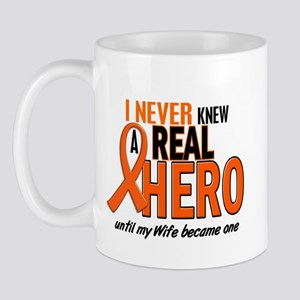 Never Knew A Hero 2 ORANGE (Wife) Mug