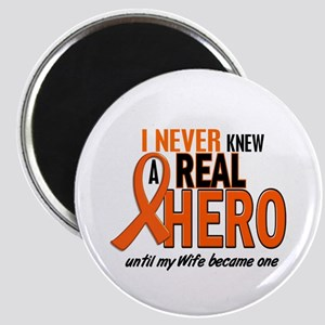 Never Knew A Hero 2 ORANGE (Wife) Magnet