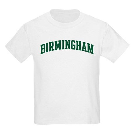 Birmingham (green) Kids Light T-Shirt