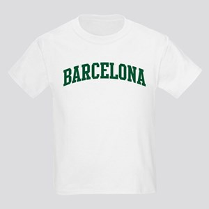 Barcelona (green) Kids Light T-Shirt