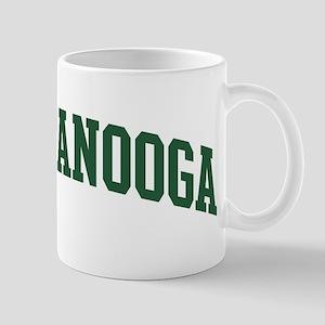 Chattanooga (green) Mug