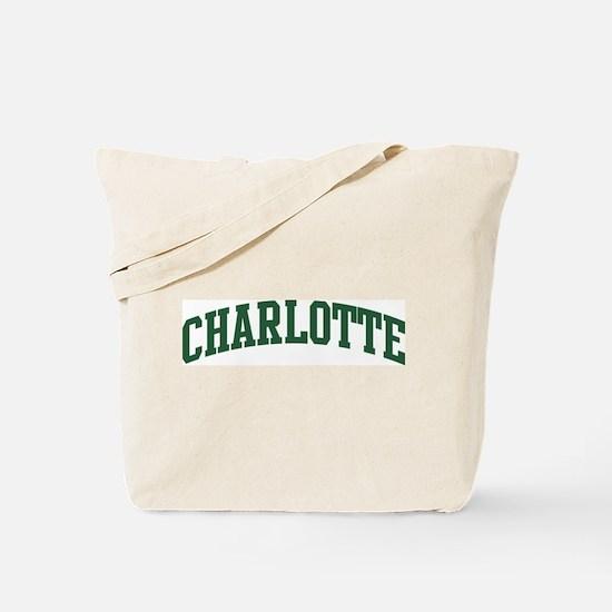 Charlotte (green) Tote Bag