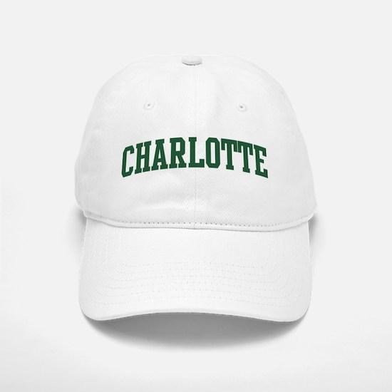 Charlotte (green) Baseball Baseball Cap
