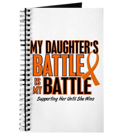 My Battle Too ORANGE (Daughter) Journal
