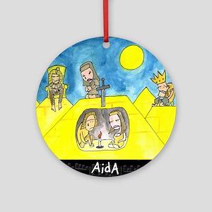Aida Ornament (Round)