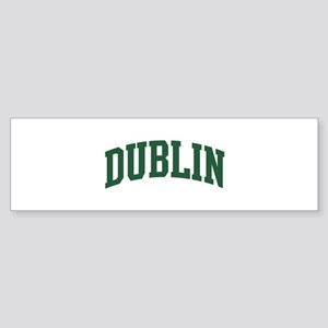 Dublin (green) Bumper Sticker