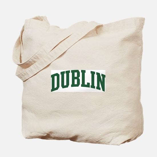 Dublin (green) Tote Bag