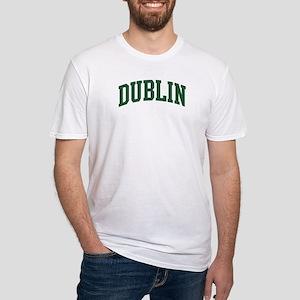 Dublin (green) Fitted T-Shirt
