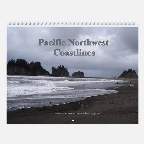 Pacific NW Coastlines Wall Calendar