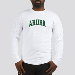 Aruba (green) Long Sleeve T-Shirt