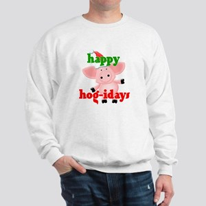 happy hog-idays Sweatshirt