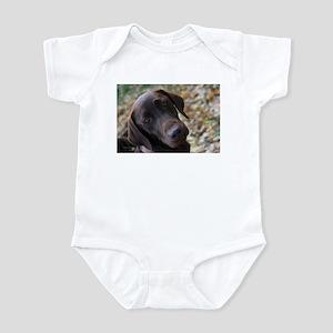 Chocolate Lab C Infant Bodysuit