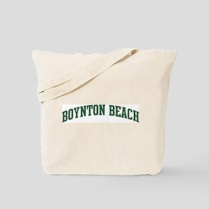 Boynton Beach (green) Tote Bag