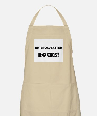 MY Broadcaster ROCKS! BBQ Apron