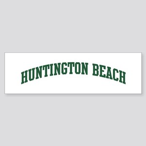 Huntington Beach (green) Bumper Sticker