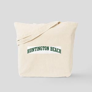 Huntington Beach (green) Tote Bag