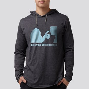 MIND YOUR OWN BUSINESS Long Sleeve T-Shirt