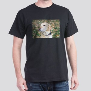 Yellow Lab #2 Portrait Dark T-Shirt