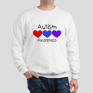 Autism Awareness (Hearts) Sweatshirt