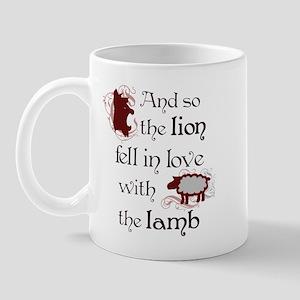 Twilight Lion and Lamb Mug