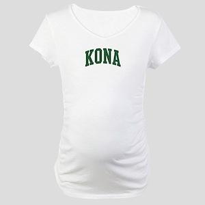 Kona (green) Maternity T-Shirt
