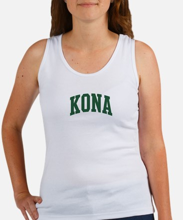 Kona (green) Women's Tank Top