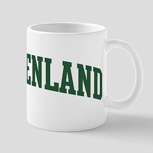 Greenland (green) Mug