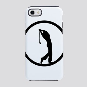 A golfer in the district iPhone 8/7 Tough Case