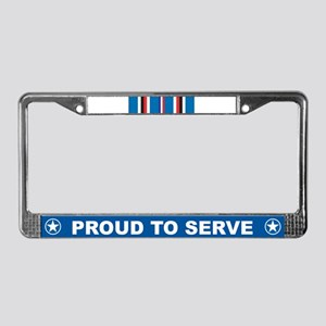 American Campaign License Plate Frame