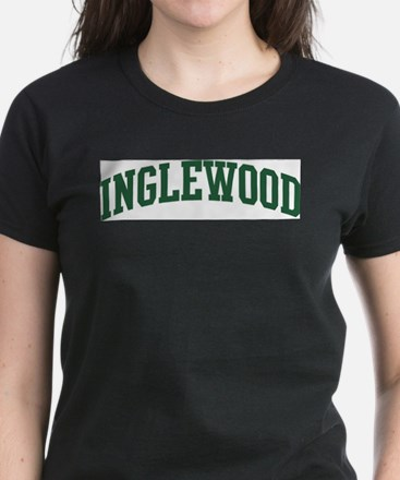 Inglewood (green) Women's Dark T-Shirt