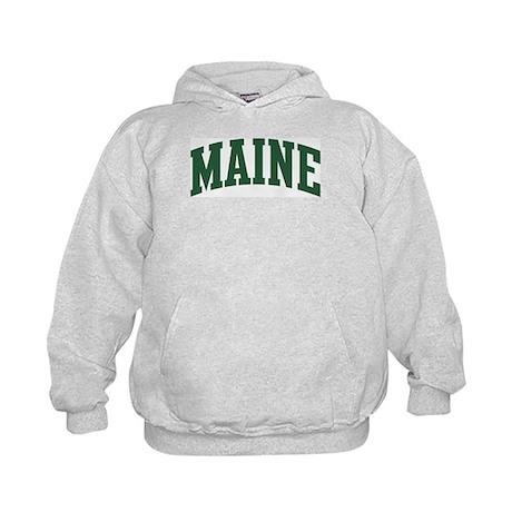 Maine (green) Kids Hoodie