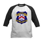 USS HOEL Kids Baseball Jersey