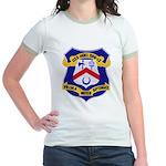 USS HOEL Jr. Ringer T-Shirt