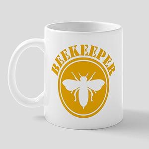 Beekeeper Stencil Mug