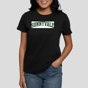 Sunnyvale (green) Women's Dark T-Shirt