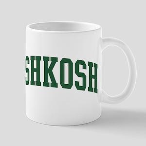 Oshkosh (green) Mug