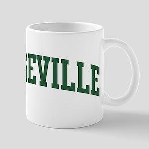 Roseville (green) Mug