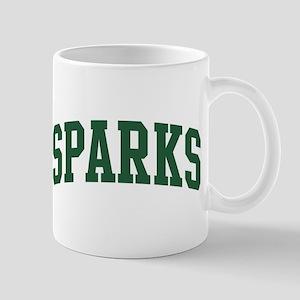 Sparks (green) Mug