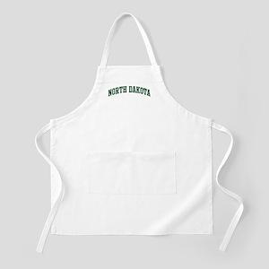 North Dakota (green) BBQ Apron