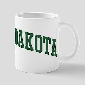 North Dakota (green) Mug