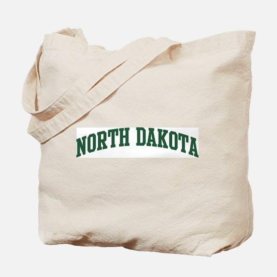 North Dakota (green) Tote Bag
