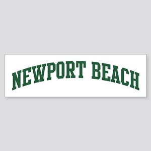 Newport Beach (green) Bumper Sticker