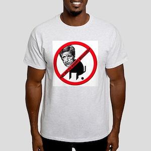 No John Kerry Bullcrap Ash Grey T-Shirt