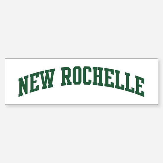New Rochelle (green) Bumper Bumper Bumper Sticker