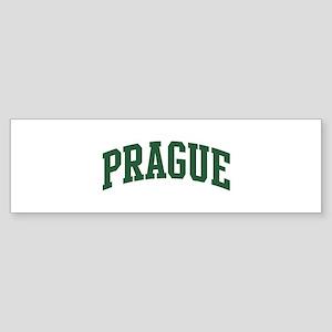 Prague (green) Bumper Sticker