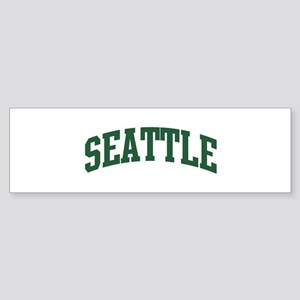 Seattle (green) Bumper Sticker