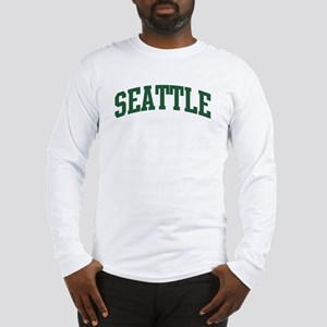 Seattle (green) Long Sleeve T-Shirt