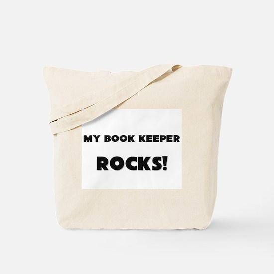 MY Book Keeper ROCKS! Tote Bag