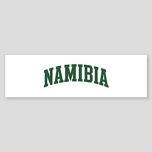 Namibia (green) Bumper Sticker