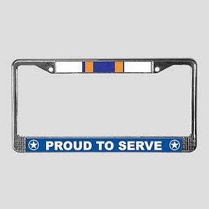 Air Medal License Plate Frame